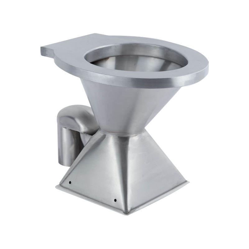 304 Stainless Steel S-trap Toilet Bowl