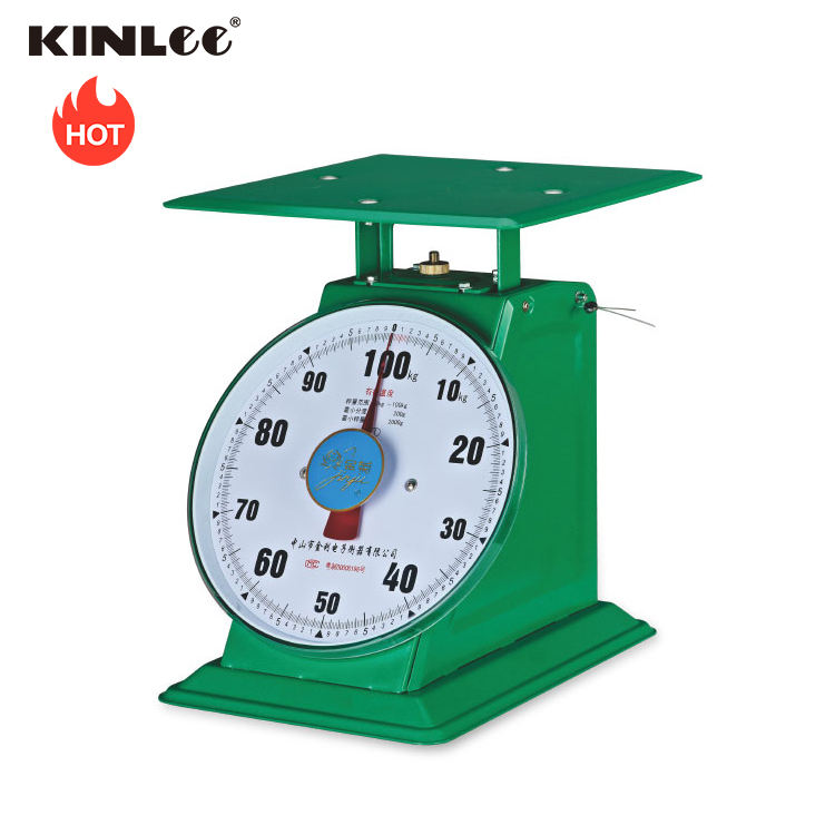 ATZ-B2-100_Capacity=60/100/150kg_ Mechanical Flat stainless iron spring measuring scale