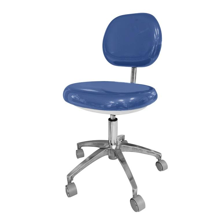Cheap hospital furniture back rest height adjustable ergonomic medical stool for dentist