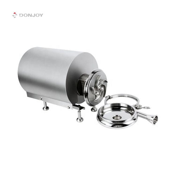 DONJOY easy adjusted Stainless Steel Sanitary clamp head Centrifugal Pump