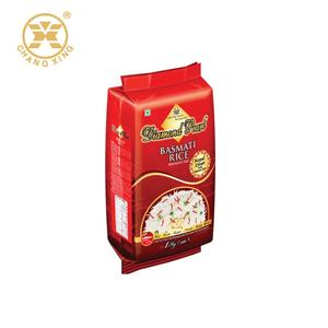 Custom Basmati Rice Big Bag For Rice Packaging  Rice Packaging Bags Made In China