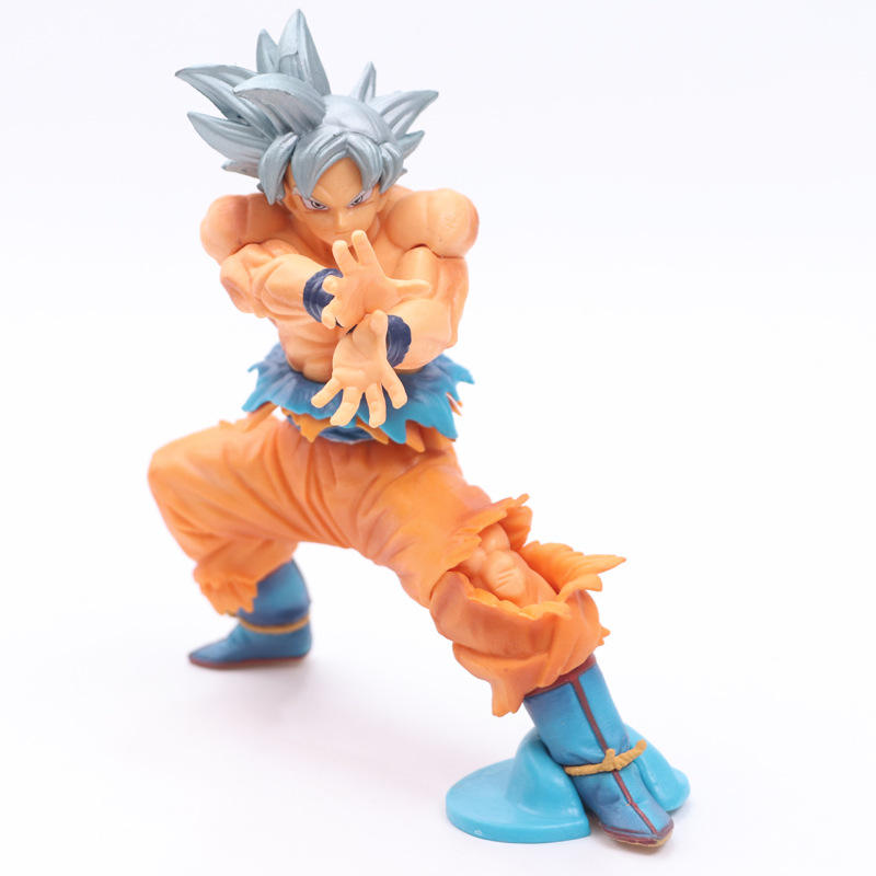 Figurines japonaise Dragon Ball Z, figurines de Collection, Super Saiyan Son Goku, 12 cm, 15.5