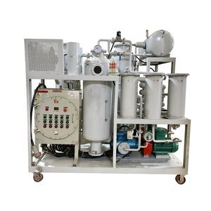Explosion-proof Oil Deodorize Machine/Oil Discolored Treatment Plant for Diesel Oil/Hydraulic Oil TYR-Ex-5