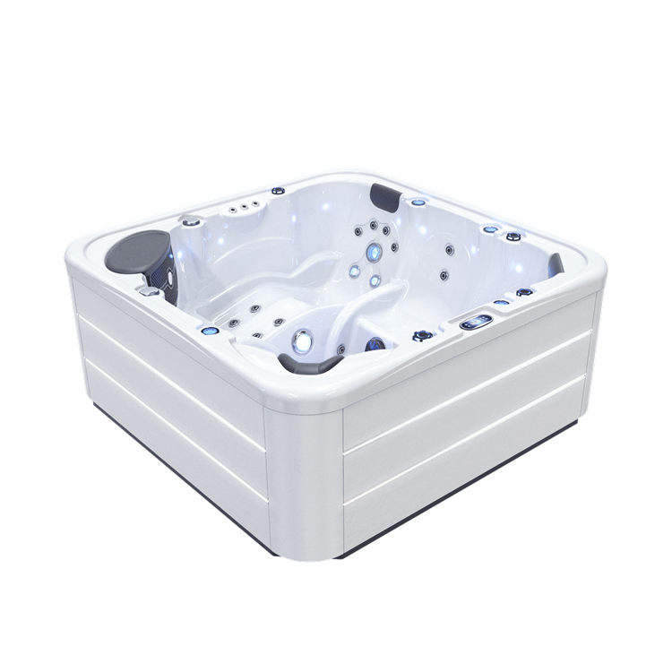 Cheap massage whirlpool bathtub outdoor spa hot tubs for 6 people
