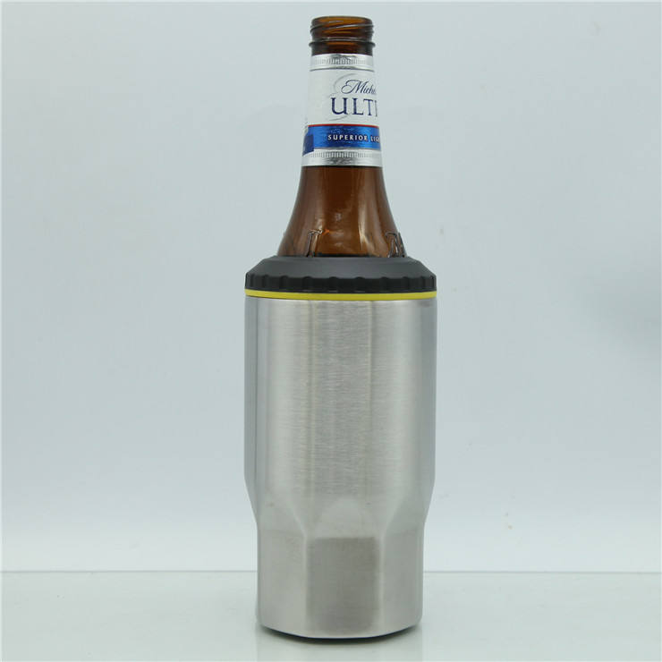 Stainless Steel Double Walled Insulated Can Bottle Cooler Copper Lining BPA Free No Sweat Exterior