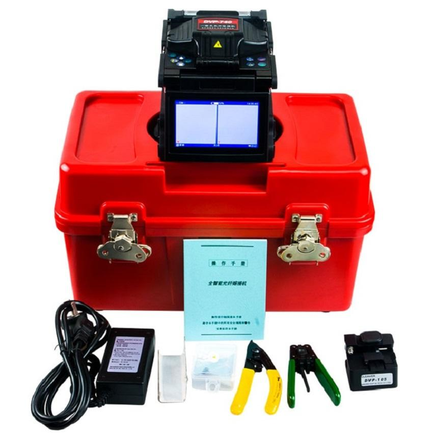 Ftth Fiber Cable Tool Device DVP 740 750 760 Fusion Splicing Machine optical fusion splicer