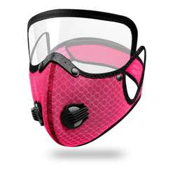 factory original outdoor cycling sport face cover fashion washable in stocks facemask with eye shield