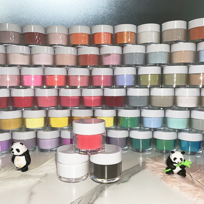 Wholesale Nail Art Private Label Color Cover High Quality Brands of Dipping Powder Acrylic Powder