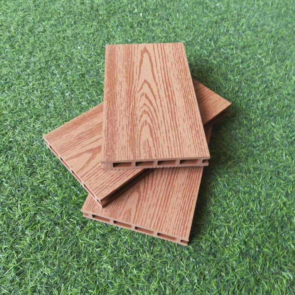 Decorative wood plastic composite decking supply grey laminate flooring for garden swimming pool