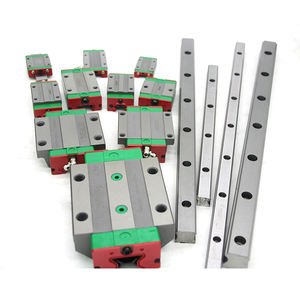 Hiwin Linear Guide HGR20 With Linear Block HGH20CA Linear Guide Rail