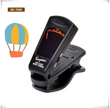 Guitar Tuner, KaysenPitch Adjustable Frequency chromatic guitar tuner Ukulele with Wide Screen Display