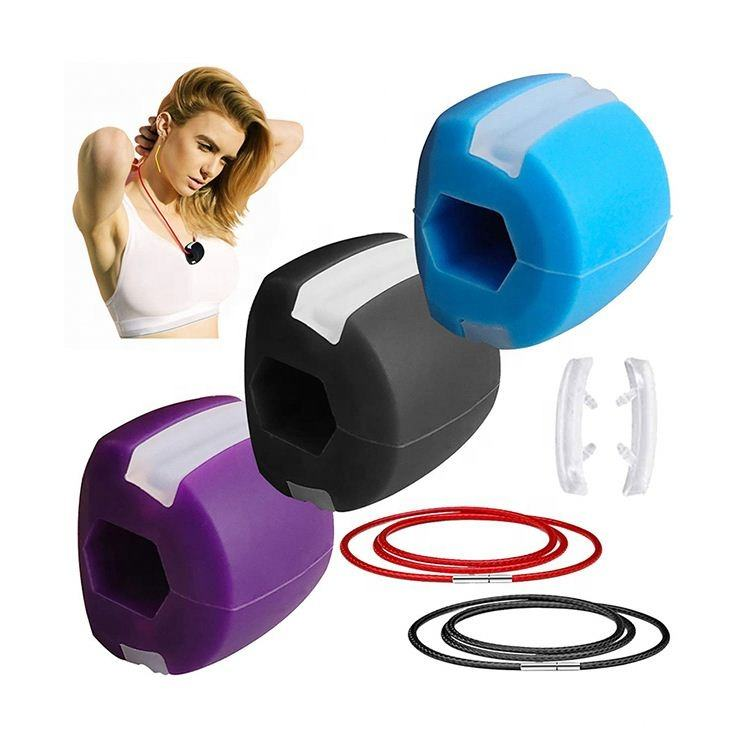 Jawline Muscles Mouth Exercise Dental Facial Device Silicone Chislr Rubber Jaw Exerciser