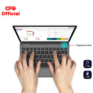 GPD P2 Max Pocket 2 Max One Mix 8.9 Inci Layar Sentuh Inter M3-8100y 16GB 512GB Mini Pocket PC Notebook Cina Laptop
