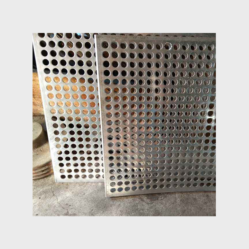 2020 Hot selling 1mm thickness round hole galvanized perforated sheet 2mm hole 3mm pitch punched hole panels for wholesales