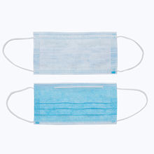 Ready stock 3 ply non woven earloop fashion non woven mask anti pollution