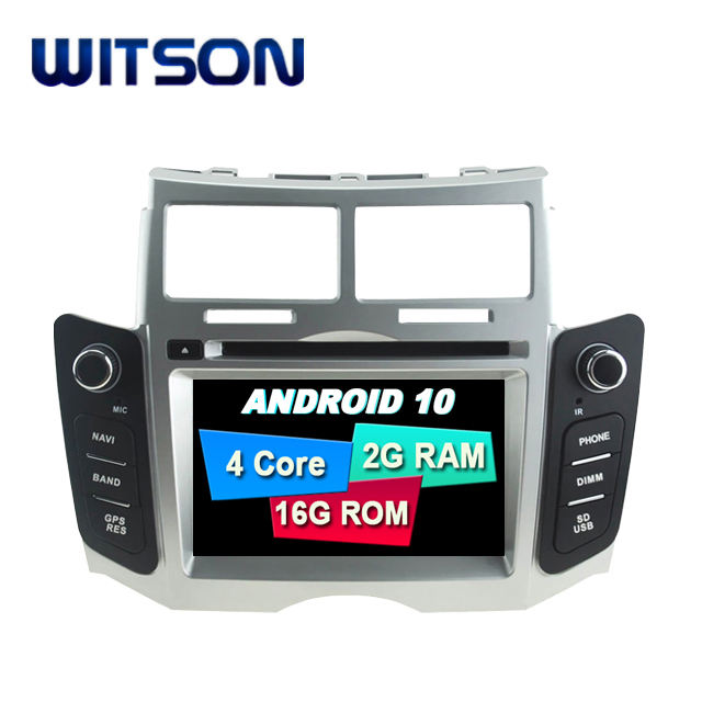 WITSON Android 9.0 Navigazione Dell'automobile DVD GPS Per TOYOTA YARIS 2005-2011 Android Car Multimedia System