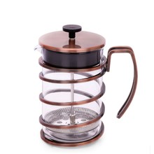 Classic Style  Health-Friendly Coffee Maker Borosilicate Glass French Press Coffee Pot