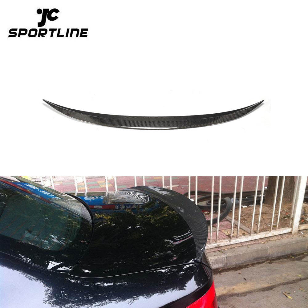 In Fibra di carbonio E82 1 M Car Rear Spoiler Ala per BMW Serie 1 3.0L 2979CC l6 GAS DOHC Turbocompresso