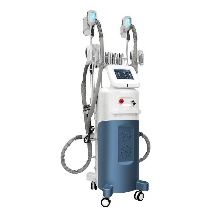 Hot sale cryo machine with cavitation rf and lipolaser body slimming 2 cryo handles cryotherapy machine