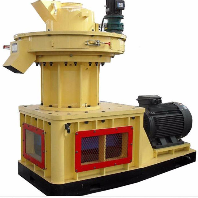 Reliable quality wood pellet making machine for pine / birch/ poplar/ bamboo