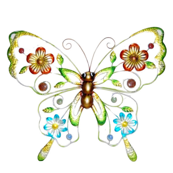 Beautiful Metal 3D Butterfly Home Decoration Wall Hanging