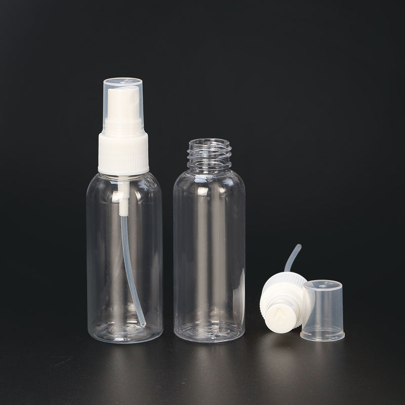 10ml 15ml 20ml 30ml 50ml 60ml 100ml 120ml plastic PET perfume spray bottle for cosmetic