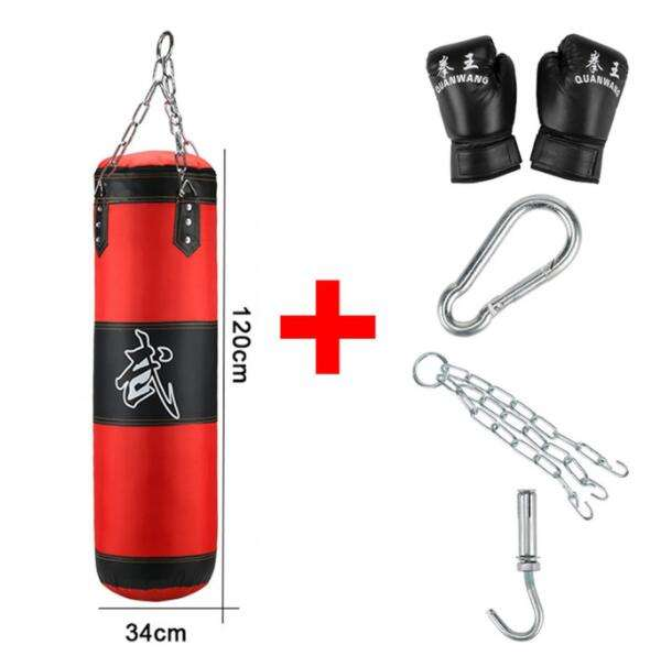70 cm Hot Selling Hanging Custom Logo PU Oxford Inflatable Training Punching Reflex Boxing Bag