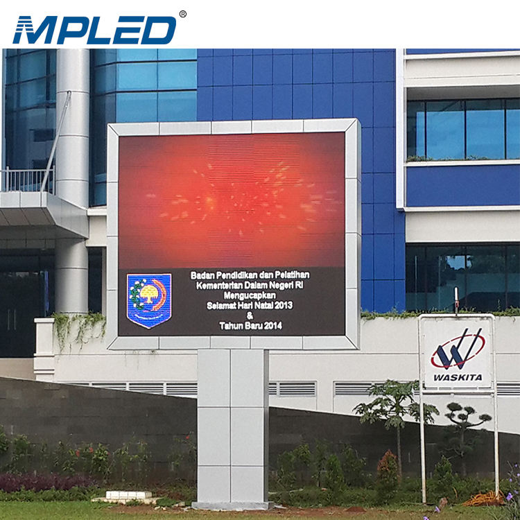 MPLED Outdoor LED Display P3.3 New Tech Sign Screen Board Price Full Color High Bright Digital Signage Display Video Wall