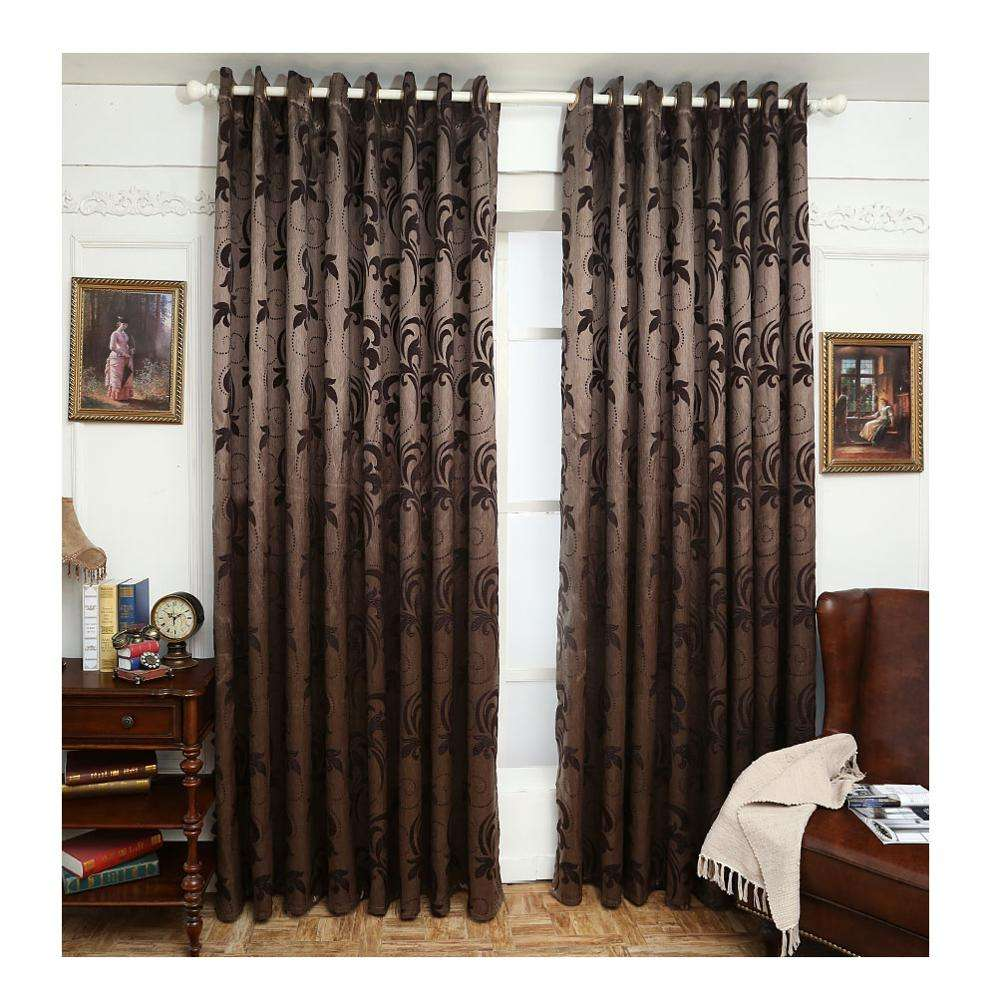 Factory price cheap sunproof blackout window curtains for the bedroom