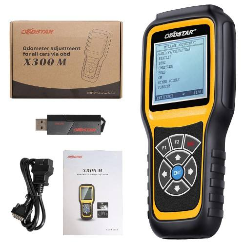 OBDSTAR X300M Special for Odometer Adjustment and OBDII Support Mercedes Benz MQB VAG KM Function Key Programmer
