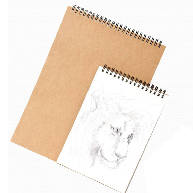 A3/A4/A5 Sketchbook Diary for Drawing Painting Graffiti Memo Pad Kraft Paper Sketch Book