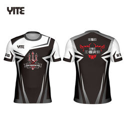 YITE  Custom Esport Gaming Jersey New Design Men Esports Jersey Team