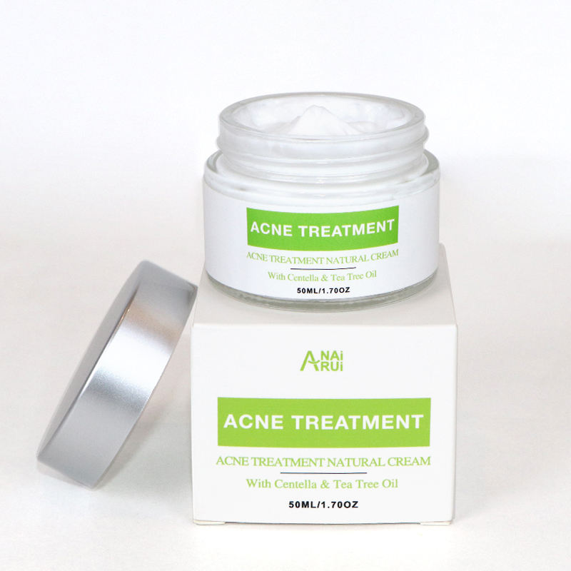 Factory OEM/ODM Private Label Tea Tree Extract Pimple Remover Face Cream Natural Treatment Acne Cream