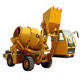 High quality CM3500 3 cubic meter self loading concrete cement mixer truck pump for sale