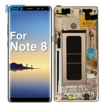for note 8 mobile phone lcds for samsung note 8 LCD for samsung note 8 display LCD touch screen