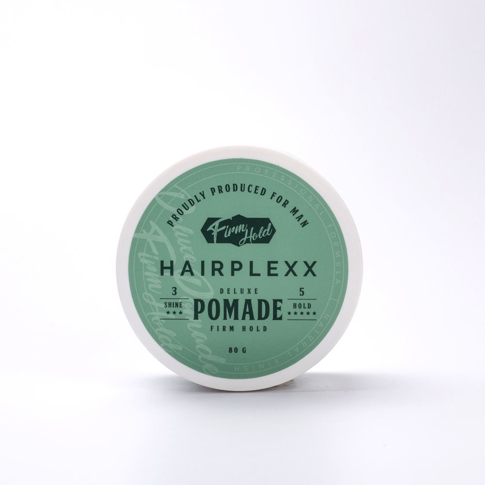 Hairplexx OEM private label fabriek prijs perfecte hold hair styling mens pommade