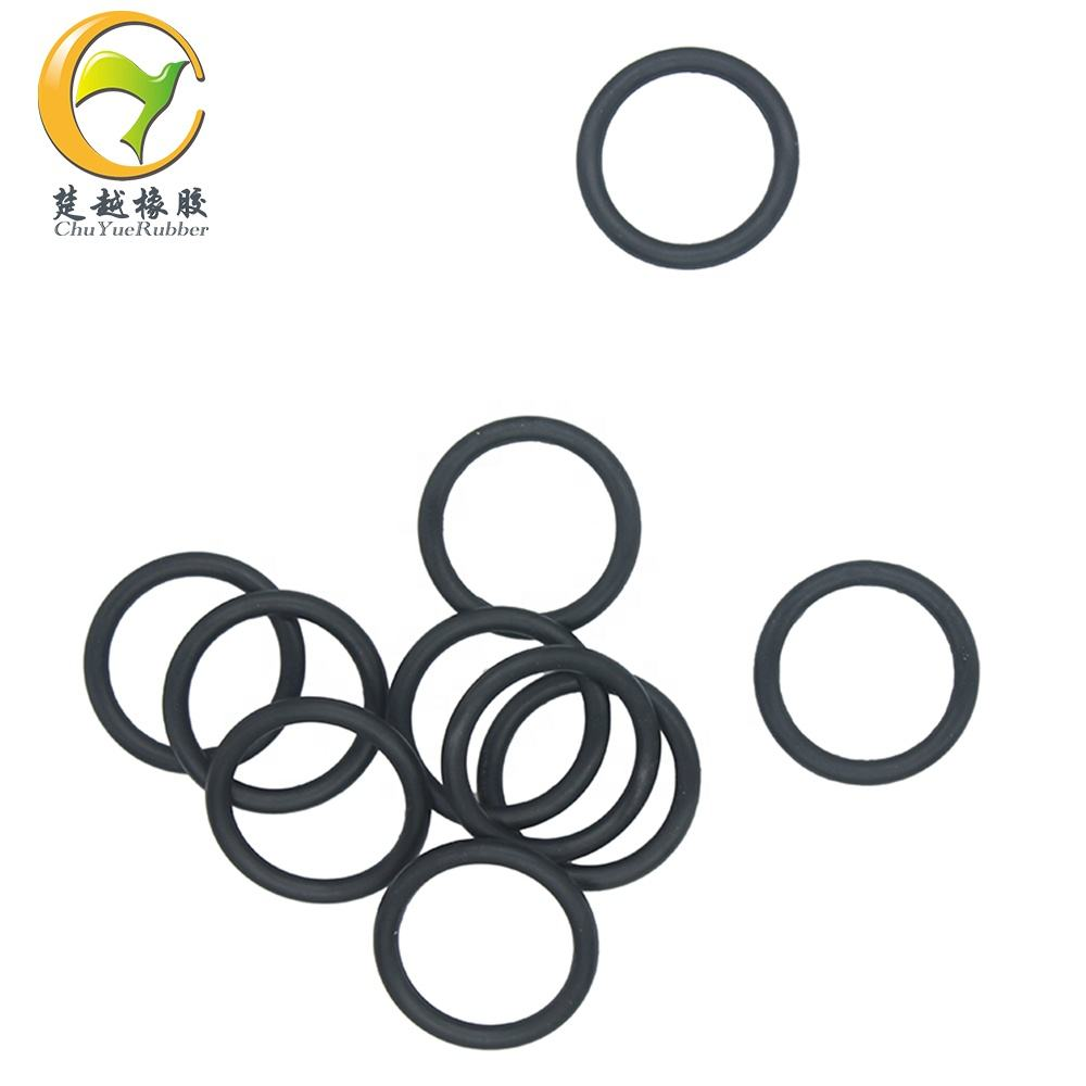 Hard rubber seal ring for pvc pipe