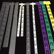 plastic wholesale display retail hanging clip strip