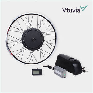 250w 300w 500w 1000w motor electric bicycle wheel conversion kit with battery