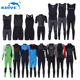 Triathlon Wetsuit Men's Wetsuit HY1105 CR Neoprene 3-7mm Long Sleeve Chest Zip Triathlon Wetsuit Mens