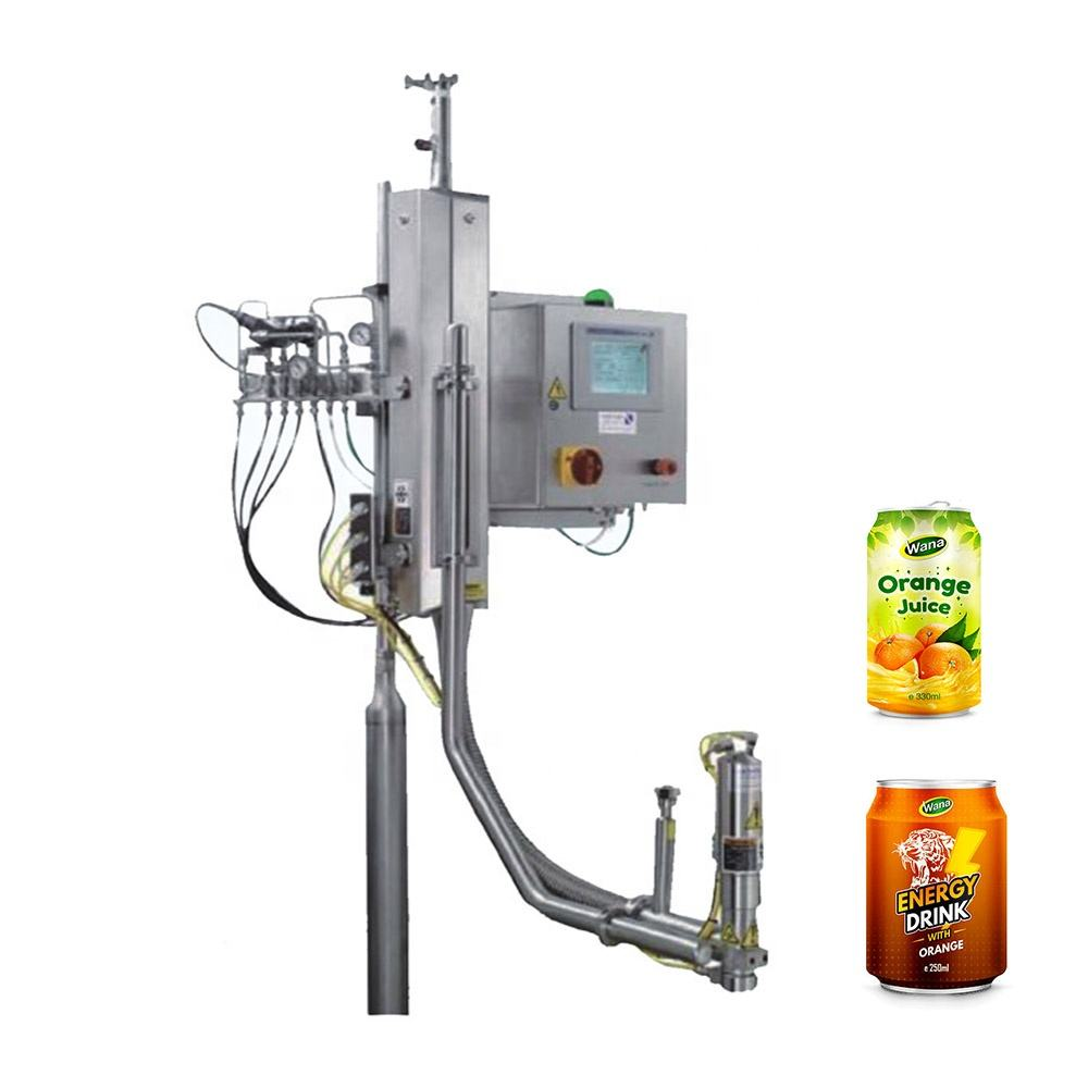 High Quality liquid nitrogen dosing machine Liquid Nitrogen Filler for PET bottles Aluminum Can Water Juice Beverage