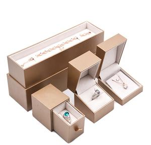 Jewelry Packaging Box Luxury Custom Plastic Ring Box Jewelry