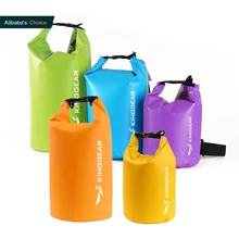 Outdoor Wholesale Ocean Pack  5L 10l 15L 20L Floating Boating, Fishing Swimming 500D PVC Ocean Pack Waterproof Dry Bag