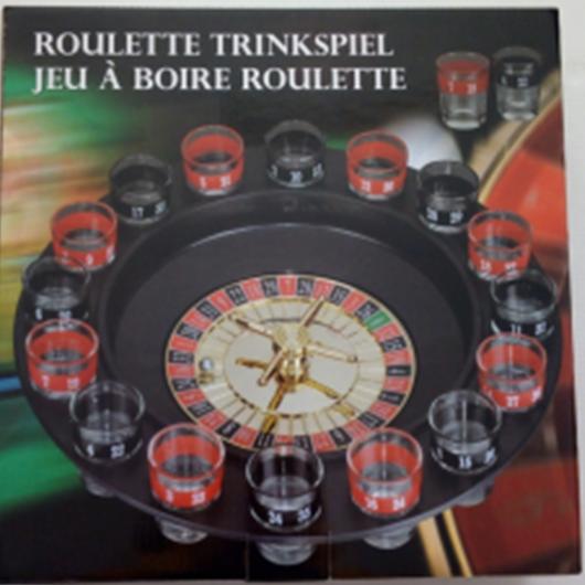 La roulette russe boire Set Jeu Casino Spin Adulte Fête Spinner Fun Nouveau