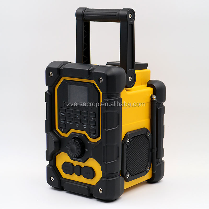 New Portable Water Resistant Jobsite Radio FM/DAB+ radio