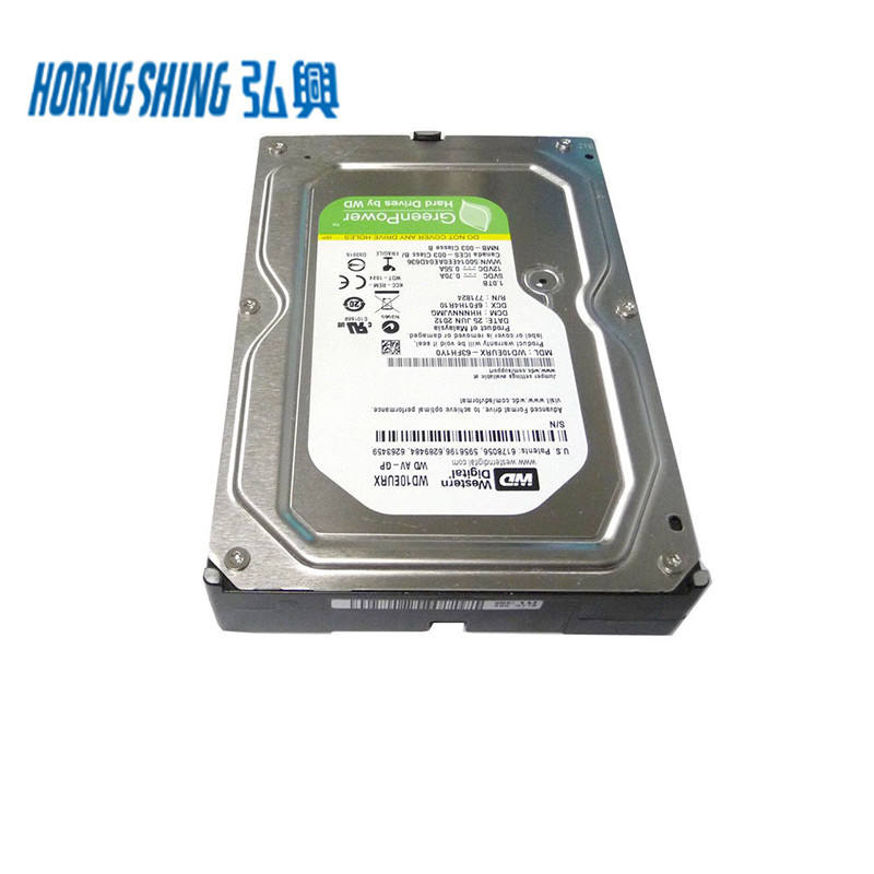 HORNG SHING Supplier WD10EURX WD 3.5 Inches SATA 6.0ギガバイト/秒64 MB Cache 7200 RPM CCTV DVR PC NAS Hard Disk 1テラバイトDrive