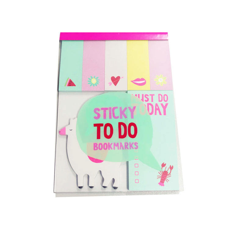 customized pp cover weekday sticky note set-sticky to do bookmarks/just do today