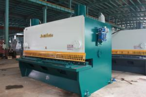 sheet metal guillotine sheet metal shearing machine steel cutting machine
