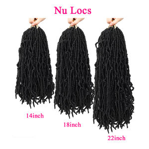 boho flocs Synthetic Hair Crochet Braids Soft Faux Locs Style Dreadlocks pictures darling afro Braiding Hair 14 18 24 30 36 inch
