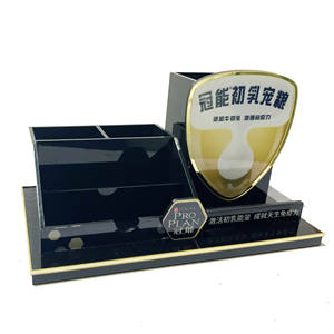 Produk Terbaru Desain Terbaru Acrylic Display Pen Holder Rak Display Rak